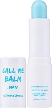 Perfumería y cosmética Bálsamo protector de labios con aceites de jojoba y árbol de té - Fontana Contarini Call Me Balm Man Protective Lip Balm