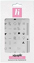 Perfumería y cosmética Pegatinas para uñas - Hi Hybrid Simple Nail Stickers