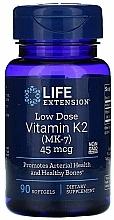 Perfumería y cosmética Complemento alimenticio en cápsulas vitamina K2 - Life Extension Vitamin K2 (MK-7)