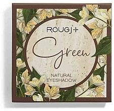 Perfumería y cosmética Sombras de ojos naturales - Rougj+ Green Natural Eyeshadow Palette