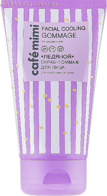 Exfoliante-gommage facial con extracto de menta y polvo de albaricoque - Cafe Mimi Facial Cooling Gommage