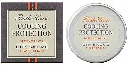 Perfumería y cosmética Bálsamo labial con mentol - Bath House Cooling Protection Menthol Lip Salve