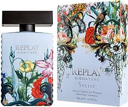 Perfumería y cosmética Replay Signature Secret - Eau de toilette