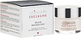 Perfumería y cosmética Crema facial antiedad con manteca de karité y extracto de caléndula - Skincode Exclusive Cellular Anti-Aging Cream