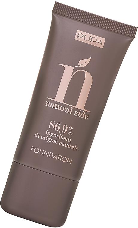 Base de maquillaje natural - Pupa Natural Side Foundation