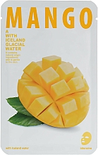 Perfumería y cosmética Mascarilla facial de tejido con extracto de mango - The Iceland Mango Mask