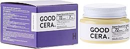 Perfumería y cosmética Crema facial con ácido hialurónico, aceite de coco y extracto de camomila - Holika Holika Good Cera Super Cream Sensitive