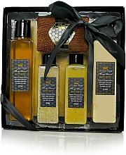 Perfumería y cosmética Set corporal - Beeing True (gel de ducha/175ml + loción/175ml + sales/100ml + exfoliante/100ml + toalla)