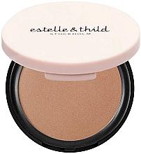 Perfumería y cosmética Polvo bronceador con manteca de karité - Estelle & Thild BioMineral Healthy Glow Sun Powder (Medium Matte)