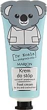 Perfumería y cosmética Crema para talones secos y agrietados con glicerina y aceite de eucalipto - Marion Dr Koala Foot Cream