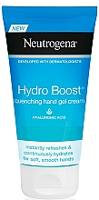Perfumería y cosmética Crema de manos con ácido hialurónico - Neutrogena Hydro Boost Quenching Hand Gel Cream