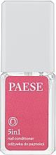 Perfumería y cosmética Tratamiento balsámico reparador para uñas 5 en 1 - Paese Treatments 5 in 1