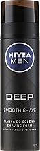 Perfumería y cosmética Espuma de afeitar con carbón negro - Nivea Deep Shaving Foam
