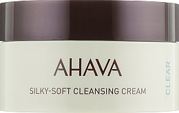 Perfumería y cosmética Crema de limpieza facial con manteca de moringa y aceite de coco - Ahava Time to Clear Ahava Silky Soft Cleansing Cream