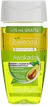 Perfumería y cosmética Gel desmaquillante con aceite de aguacate, coco y arginina - Bielenda Bouquet Nature Awokado