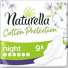 Perfumería y cosmética Compresas de noche con alas, 9 uds. - Naturella Cotton Protection Ultra Night