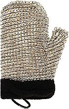 Perfumería y cosmética Guante de ducha exfoliante - Suavipiel Black Men Sisal Glove