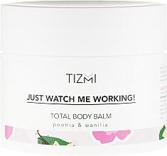 Perfumería y cosmética Bálsamo corporal con aroma a peonía y vainilla - Tizmi Total Body Balm Peonia & Wanilia
