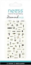 Perfumería y cosmética Pegatinas decorativas para uñas, 3709 - Neess Diamondneess