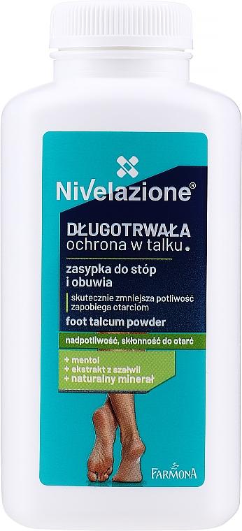Talco para pies con extracto de salvia y menthol - Farmona Nivelazione Foot Talcum Powder
