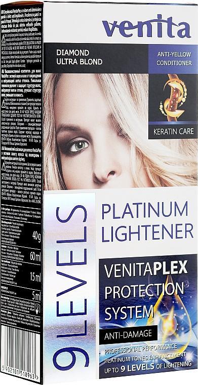 Decolorante hasta 9 tonos - Venita Plex Platinum Lightener