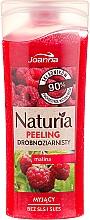 Perfumería y cosmética Gel de ducha exfoliante natural con extracto de frambuesa - Joanna Naturia Peeling