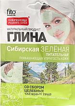 Perfumería y cosmética Mascarilla facial de arcilla verde de Siberia y extracto de camomila - Fitokosmetik