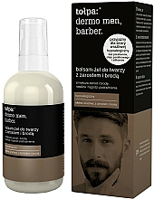 Perfumería y cosmética Bálsamo facial suavizante para bigote y barba - Tolpa Dermo Men Barber