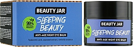 Perfumería y cosmética Bálsamo antiedad para contorno de ojos con ácido hialurónico y centella asiática - Beauty Jar Anti-Age Night Eye Balm