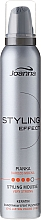 Perfumería y cosmética Espuma moldeadora para cabello de fijación muy fuerte con queratina - Joanna Styling Effect Styling Mousse Strong