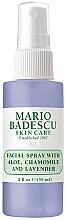 Perfumería y cosmética Spray facial con aloe vera, extracto de camomila y aceite de lavanda - Mario Badescu Facial Spray Aloe, Chamomile And Lavender