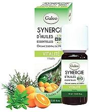 Perfumería y cosmética Mezcla orgánica de aceites esenciales energizante - Galeo Organic Essential Oil Synergy Vitality