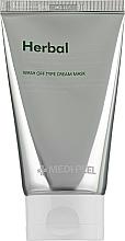 Perfumería y cosmética Mascarilla en crema exfoliante e iluminadora - Medi Peel Herbal Peel Tox