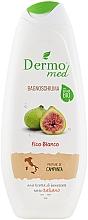 Perfumería y cosmética Espuma de baño con aroma a higo blanco - Dermomed Bath Foam