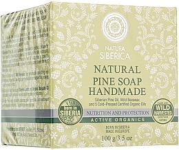 Jabón natural artesanal con aceite de pino siberiano - Natura Siberica — imagen N1
