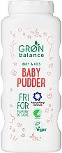 Perfumería y cosmética Polvo de talco para bebés - Gron Balance Baby & Kids Baby Pudder