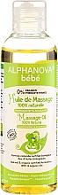 Perfumería y cosmética Aceite de masaje para niños y recién nacidos con macadamia y almendras - Alphanova Bebe Massage Oil 100% Natural