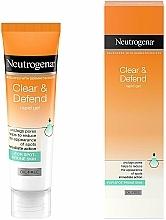 Perfumería y cosmética Gel limpiador facial con ácido salicílico - Neutrogena Clear & Defend Rapid Gel