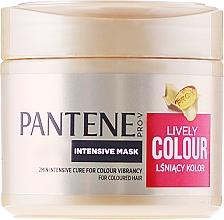 Perfumería y cosmética Mascarilla capilar intensiva con pantenol y ácido cítrico - Pantene Pro-V Lively Colour