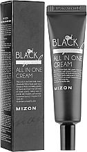 Perfumería y cosmética Crema facial con extracto de baba de caracol negro, tubo - Mizon Black Snail All In One Cream