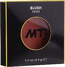 Perfumería y cosmética Colorete facial en polvo compacto, efecto brillante - MTJ Cosmetics Frost Blush