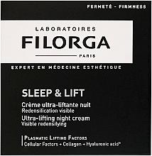 Perfumería y cosmética Crema facial reafirmante de noche con colágeno y ácido hialurónico - Filorga Sleep & Lift Ultra-lifting Night Cream