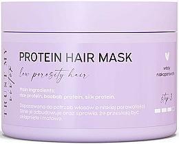 Perfumería y cosmética Mascarilla para cabello de porocidad baja con proteínas de seda y baobab - Trust My Sister Low Porosity Hair Protein Mask