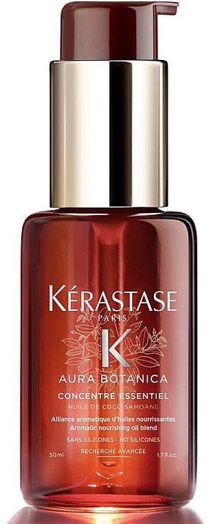 Sérum capilar antiencrespamiento con ingredientes de origen natural - Kerastase Aura Botanica Concentre Essentiel