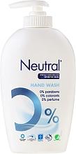Perfumería y cosmética Jabón de manos líquido hipoalergénico, pieles sensibles - Neutral 0% Hand Wash