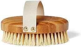 Perfumería y cosmética Cepillo de bambú para masaje corporal - Crystallove Bamboo Agave Body Brush