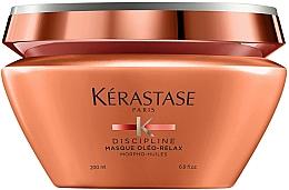 Perfumería y cosmética Mascarilla nutritiva y protectora térmica con aceite de coco para cabello encrespado - Kerastase Discipline Oleo Relax Masque