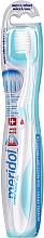 Perfumería y cosmética Cepillo dental de dureza suave, blanco-azul turquesa - Meridol Gum Protection Soft Toothbrush