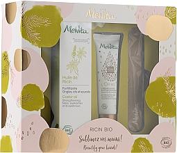 Perfumería y cosmética Set cuidado de manos y uñas - Melvita Beauty For Your Hands Set (crema/30ml + manteca/50ml + lima/1ud)