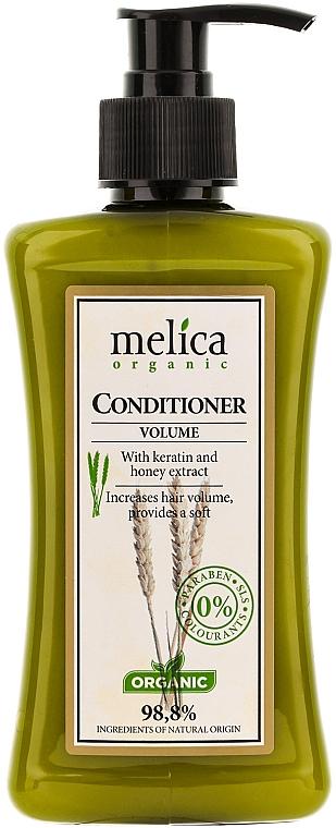 Acondicionador volumizador orgánico con queratina y extracto de miel - Melica Organic Volume Conditioner